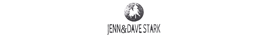 JENN & DAVE STARK PHOTOGRAPHERS / toronto & muskoka wedding photographers logo